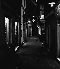 """Street_Night"" (giannipaoloziliani) Tags: urbanexplorer urbanstreet italianstreet flickr nikond3200 nikoncamera nikonphotography nikon shapes streetnight street streetphotography extreme extremeblack black bicycle lamps lights shadows lightandshadow liguria monochrome monocromatico blackandwhite biancoenero italy italia genoa genova caruggi"