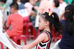 IMG_5482M Cheerleading kids. チアリーディングキッズ. (陳炯垣) Tags: street sport cheerleading girl portrait