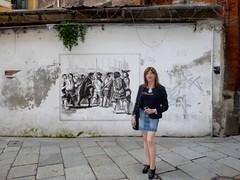 Milano - Vicolo Santa Caterina (Alessia Cross) Tags: crossdresser tgirl transgender transvestite travestito