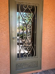 """Security Door with Glass • <a style=""""font-size:0.8em;"""" href=""""http://www.flickr.com/photos/113341785@N07/29056674038/"""" target=""""_blank"""">View on Flickr</a>"""