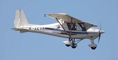 Ikarus C42 FB80 G-CCYR Lee on Solent Airfield 2018 (SupaSmokey) Tags: ikarus c42 fb80 gccyr lee solent airfield 2018
