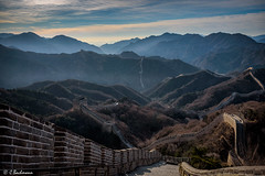 The Great Wall at Badaling (bachmann_chr) Tags: great wall badaling travel reisen nikon nikkor d750 landschaft landscape chinesische mauer