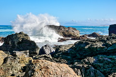 Splash! (TonyinAus) Tags: water beach surf splash australia
