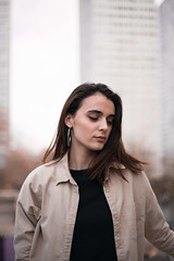 (yoann_lht) Tags: photography photographie photo photographymodel photoshoot streetphotography portraitphotography model femalemodel paris parisian portrait olympiades pink trench fashion ootd