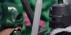 DUEL | New stop-motion film! (LupusAuratus) Tags: lego lupus auratus moc minifigures stopmotion film movie duel knight medieval fantasy sword shield rogue animation