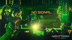 No Signal (Agaethon29) Tags: lego afol legography brickography legophotography minifig minifigs minifigure minifigures toy toyphotography macro cinematic 2018 legospace neoclassicspace spaceman classicspace space scifi sciencefiction ncs novateam customminifigure moc alien aliens blacktron