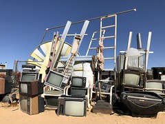 Noah Purifoy's Everything and the Kitchen sink (1996) at the Outdoor Art Museum (MyLifesATrip) Tags: joshuatreenationalpark joshuatree art california us ustravel desert