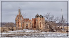 The Beauty of a Building (Note-ables by Lynn) Tags: building architecture abandoned brucecounty brick
