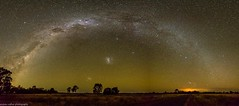 milky way panorama (andrew.walker28) Tags: milky way rainbow leyburn queensland australia astrophotography landscape stars night long exposure panorama