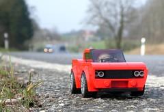 Dodge Challenger (captain_joe) Tags: dodge challenger toy spielzeug 365toyproject lego minifigure minifig moc car auto road strasse strase muxall landgraben schleswigholstein