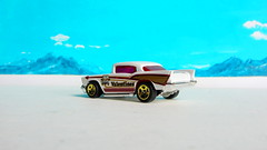 Hot Wheels HOLIDAY RACERS '57 Chevy 2017 : Diorama The Bonneville Salt Flats - 2 Of 14 (Kelvin64) Tags: hot wheels holiday racers 57 chevy 2017 diorama the bonneville salt flats