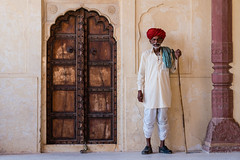 Ajmer Fort (polychromatisch) Tags: ilce7rm3 india sony alpha 7r3 7riii fe 24105 f4 g oss ajmer fort guard