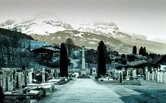Combloux lomography turquoise 02 2018003 (Patrick.Raymond (4M views)) Tags: alpes montagne neige haute savoie combloux la cry argentique lomogaphy turquoise nikon