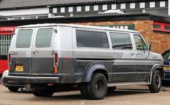 D338 CPF (Nivek.Old.Gold) Tags: 1987 ford club wagon xlt 7500cc