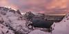 _DSC4804-Pano.jpg (Caramad) Tags: sea norway reine landscape ice montaña sunrise lofoten agua winter nieve
