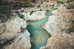 Wadi Shab (Paulina Wierzgacz) Tags: wadi wadis pool swimmingpool lake lakes river canyon gorge nature travel traveller trip travelling tourist trial trekking trek turquise blue swimming summertime swim paradise palm walk wanderlust wild waterfall portrait people adventure asia oman arabianpenisula middleeast mountains microadventure magic discover explore experience exotic wadishab shab underwater cave