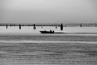 Venetian lagoon view