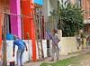 Worli Village (grab a shot) Tags: canon eos 5dmarkiv india maharashtra mumbai 2018 outdoor worlivillage fishermen fishingvillage roublenagiartfoundation painters men