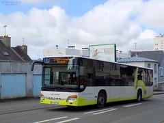 Setra S415NF n°707 (ChristopherSNCF56) Tags: brest bibus labat autocar setra autobus bus s415nf transport urbains scolaire 707