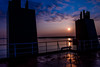 The Day Onboard Starts (langdon10) Tags: canada canon70d laurentiadesgagnes montreal navigation quebec ship shoreline stlawrenceriver morning nautical sunrise