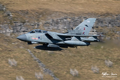 RAF Tornado GR4 ZA607 low level in Northern England (NDSD) Tags: low level panavia tornado gr4 cumbria yorkshire pennine pennines flying jet raf lake district plane aviation aircraft dales