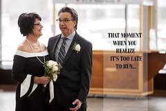 Monica & Tom (Chaos2k) Tags: wedding bridegroom 52weeks 52weeksin2018 2018 brianboudreau sudbury ontario canada canon5dmarkii canon7020028isii quotes love humor dof