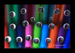 Rain X Drops (Peter Camyre) Tags: colored pens rainx water droplets macro photography refraction light playing with artistic creative indoor project peter camyre play test testing colors beautiful pretty fun ink pen