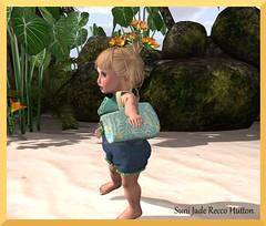 Little Clover beach bag (Suni Debs Recco) Tags: badseedbebe bebe child clothes clothing freebie freebies girl gift kids kid sl secondlife slblog slblogger secondlifeblogger secondlifeblog toddleedoo td tdbaby thespunkymonkey littleclover