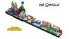 The Simpsons - Springfield Architecture Skyline (MOMAtteo79) Tags: lego ideas springfield skyline architecture simpsons