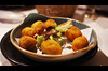 Cheese Croquettes at La Nicoletta. (Iker Merodio | Photography) Tags: croquette kroketa la nicoletta bilbao bizkaia biscay basque country euskadi pentax k50 sigma 30mm art food foodporn gastronomy