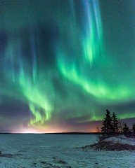 Earth Day (vaibhav.pandeys) Tags: earthday2018 earthday lights canada alberta travel nikond750 nikoncanada longexposurephotography longexposure astrophotography nightphotography nightsky northernlights auroraborealis aurora