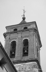 Iglesia de El Salvador. Campanario. (MaricarmenM.) Tags: buñol caminolaportera elrebollar requena toro paisaje