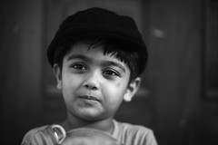 The Black Beret (N A Y E E M) Tags: umar kalam son candid portrait beret nike afternoon ramadan availablelight indoors bedroom home rabiarahmanlane chittagong bangladesh sooc raw unedited untouched uma lulu