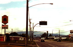 Cranbrook, BC (J_Piks) Tags: canada road highway bc britishcolumbia streetlights streetlighting lampposts telegraphpoles