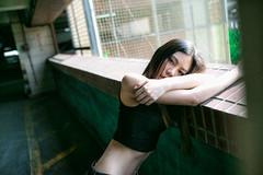 (jimmyVB@Hsu) Tags: 外拍 fantastic nikon nikon50mm sigma35mmart 寫真 街拍 女孩 公寓 約拍 人像 portraitshots girls 停車場