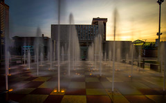 Crown Center Foutains (KC Mike Day) Tags: fountains water exposure long sunset kcmo kansascity missouri crowncenter shopping cityoffountains filter nd 10stop hotel westincrowncenter lights tiles streaming