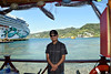 (Richard Par) Tags: norwegianjade norwegiancruiseline ncl cruiseship oceanliner resort travel vacation roatan honduras caribbeanbay coastline centralamerica island waterfront latinamerica