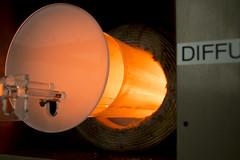 Glowing Quartz Tube Furnace (aaronrhawkins) Tags: glow tube furnace cleanroom laboratory facility fab fabrication byu brighamyounguniversity quartz heat heater hot oxide silicon dioxide growth diffuse diffusion wafer aaronhawkins