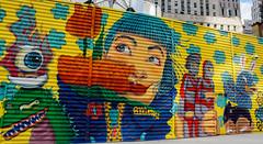 Murals (Avaiyang) Tags: art murals creativity oneworld graffiti nyc ny nycphotographer newyorkcity newyorker manhattan nyclife newyorkworld oneworldtradecenter dumbo newyorklife newyorkig nycityworld