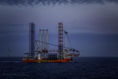 Seafox 5 (Askjell) Tags: germanbight germany merkurwindfarm thegermanbight greenenergy windmills windpower