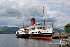 Maid of the Loch (norriemacloud) Tags: scotland maidoftheloch lochlomond paddlesteamer