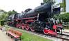 Kraków... steam locomotive Ty2-559 (marek&anna) Tags: ironhorse fschichaugmbh ty2559 steamlocomotive elbląg elbing red 1943 bench