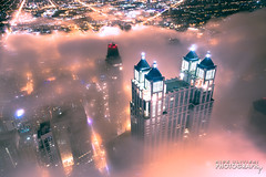 (6.18.18)-360_Fog-WEB-4 (ChiPhotoGuy) Tags: chicago architecture skyline cityscape clouds cloudporn fog foggy chasingfog weather night dusk bluehour observatory moody