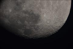 The Moon (g3az66) Tags: themoon 144 telescope keeleuniversity observatory 31cm grubb refractor