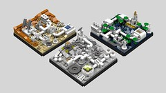StarbaseSet8 (TemporalSword) Tags: space moonbase starbase lego microscale mars moon base ideas