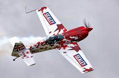 Extra EA-300S (Bernie Condon) Tags: extra ea300s aerobatic display aircraft plane formation rcmodel aviation flying gforceaerobatics airfield airshow uk bigginhill airport londonbigginhill historic planes festivalofflight
