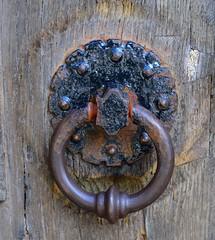 Knock! Knock! (Jason Khoo Photography) Tags: knockers handle rust rusty abstract macrophotography macro macrodreams closeupphotography closeup amateurphotography colour color unlimitedphotos antique ironmongery olddoorhandle doorhandle photography nikon nikond300 dof nikkor 50mm standardlens