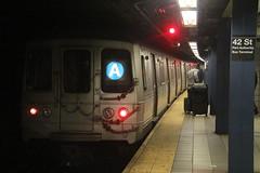 IMG_5772 (GojiMet86) Tags: mta ind nyc new york city subway train 1975 r46 6054 42nd street port authority bus terminal