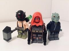 Gotham city rogues: The enforcers (Sam K Bricks) Tags: lego enforcers bane red hood killer croc gotham city rogues