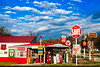 Gary's Garage (DIGITAL IDIOT) Tags: digitialidiot ©allrightsreserved phillips66 texaco quakerstate generaltires sinclair valvoline deeprock conoco